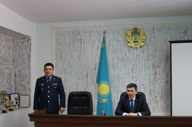 Назначен начальник департамента УИС по Актюбинской области