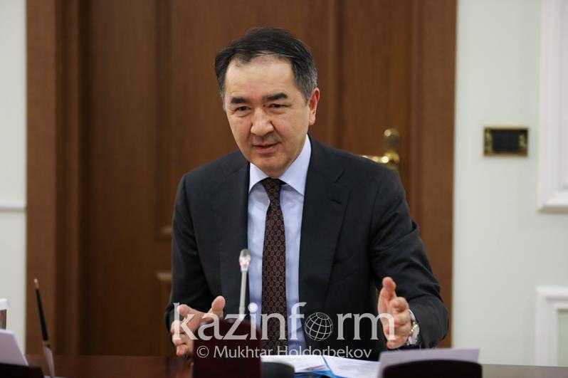 Бакытжан Сагинтаев обратился к алматинцам в связи с сильным снегопадом