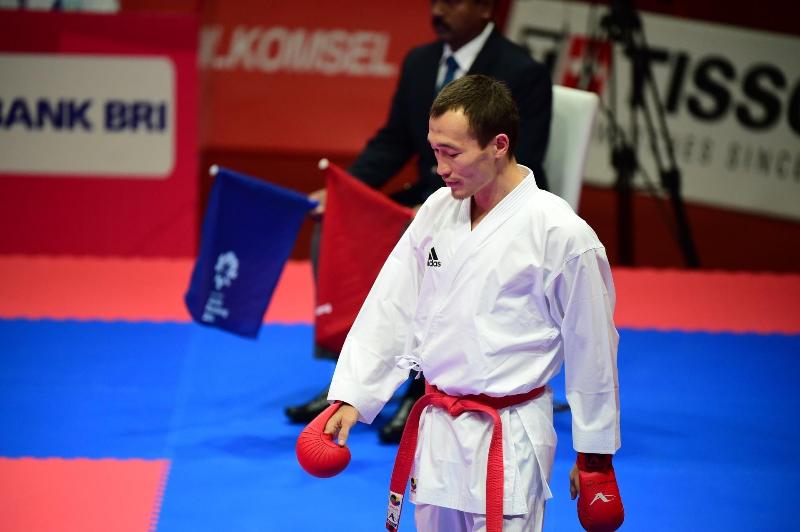Казахстан завоевал два «серебра» на Премьер-лиге по каратэ в ОАЭ