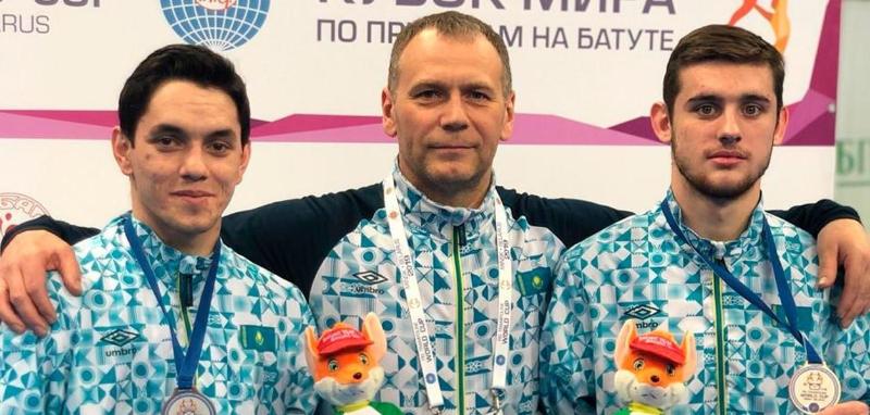 Казахстанские гимнасты стали третьими на этапе Кубка мира в Баку