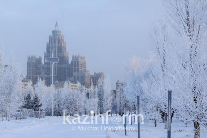 Unsteady weather expected in Kazakhstan Feb 17