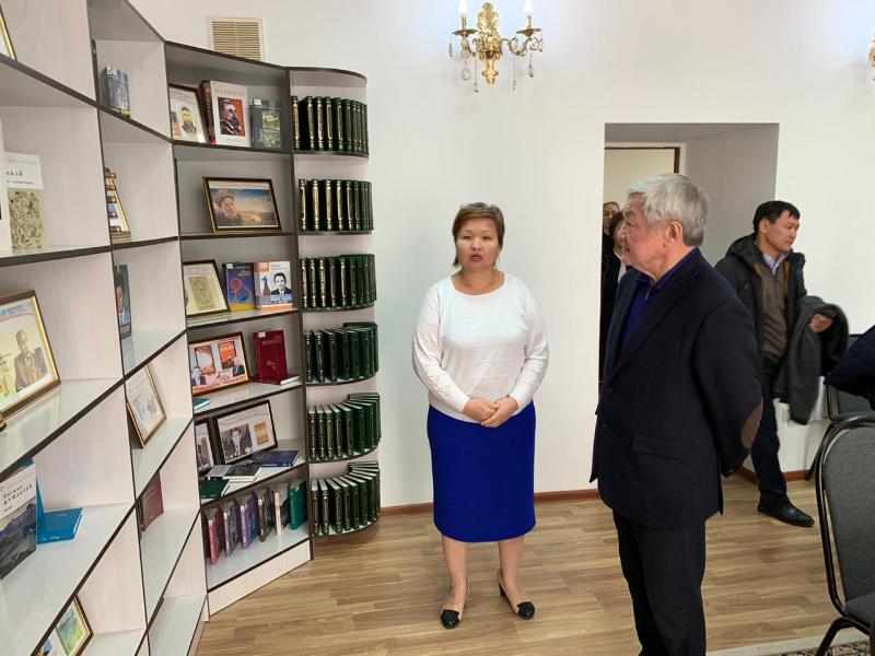 С социальными объектами Кордайского района ознакомился Бердибек Сапарбаев