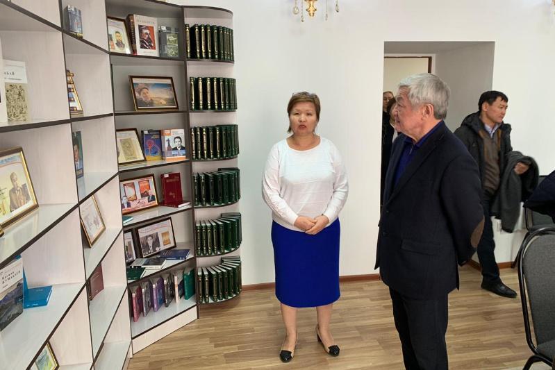 Бердібек Сапарбаев Қордай ауданының әлеуметтік нысандарымен танысты