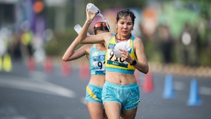 哈萨克斯坦竞走运动员获得奥运入场券