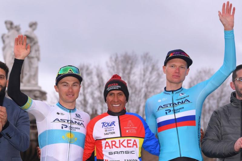 Казахстанцы стали призерами многодневной гонки «Тур Прованса»