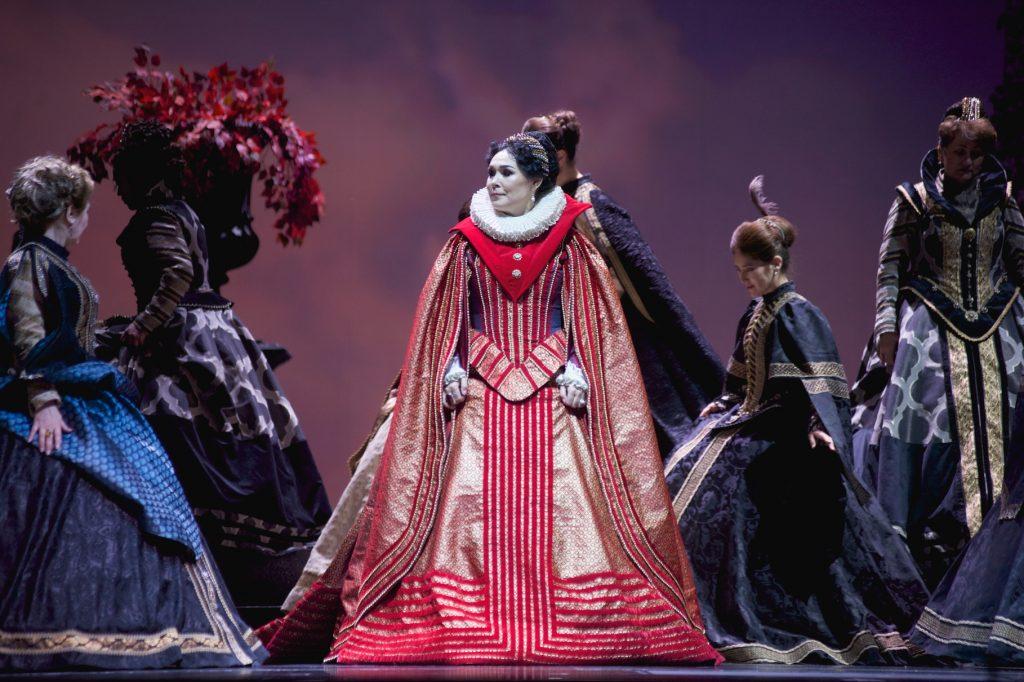 Maira Mukhamedkyzy  debuts in the Opera Don Carlos