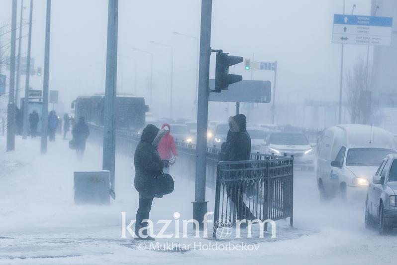 Snowstorms to hit Kazakh capital