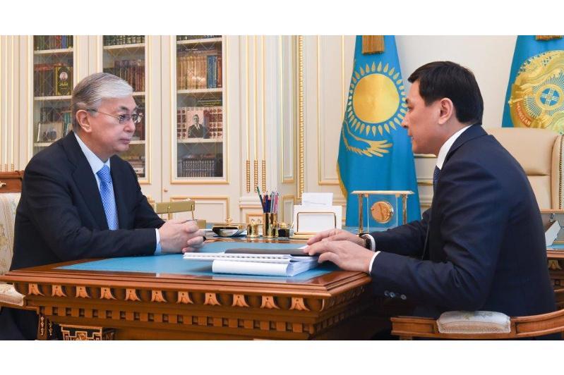 President Tokayev receives Mayor of capital Altay Kulginov