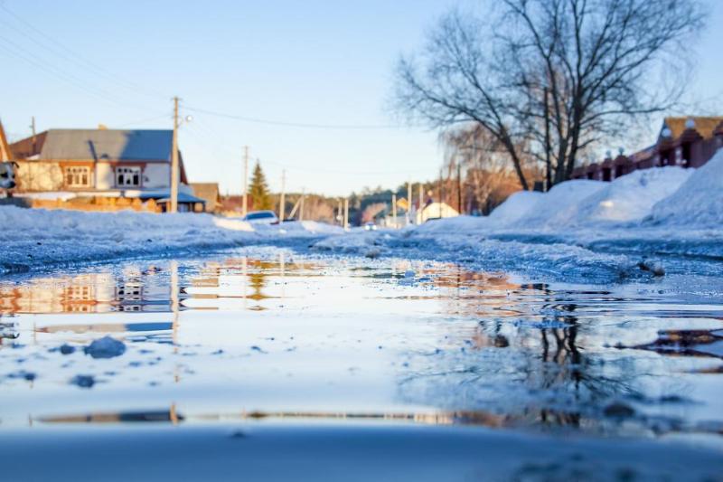 Сложную паводковую ситуацию прогнозируют в Петропавловске