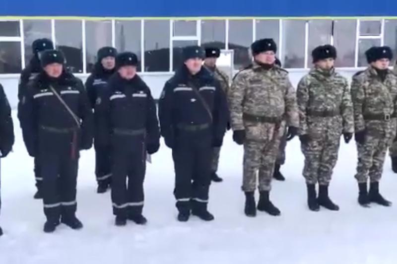 Қарағандылық әскерилер #Аbai175 челленджін қолдады