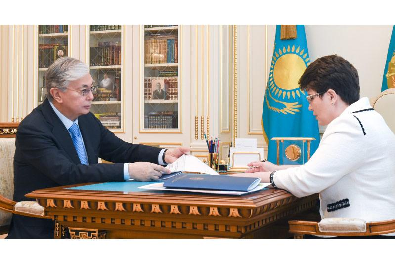 President Tokayev meets with Accounts Committee Chairperson
