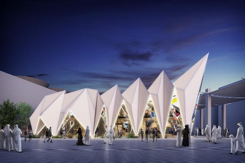 Emirati-designed 'Expo Live Pavilion' hopes to inspire millions