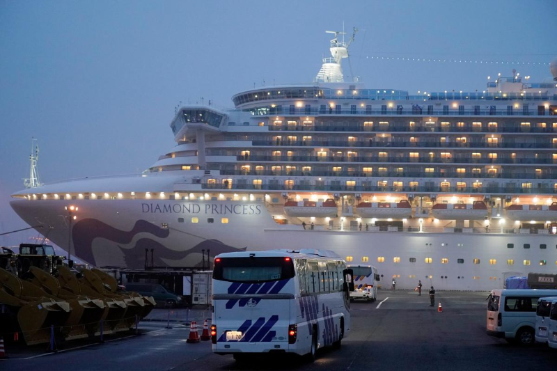 2 women, 2 kids from Kazakhstan stranded on Diamond Princess cruise ship
