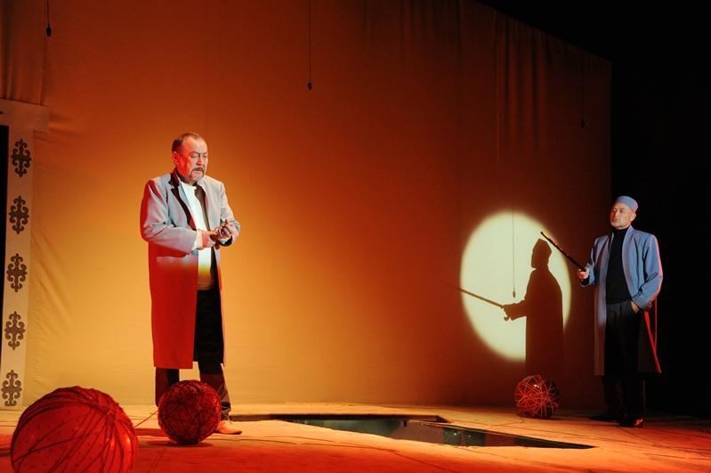 Премьера спектакля «Абай» прошла в Талдыкоргане