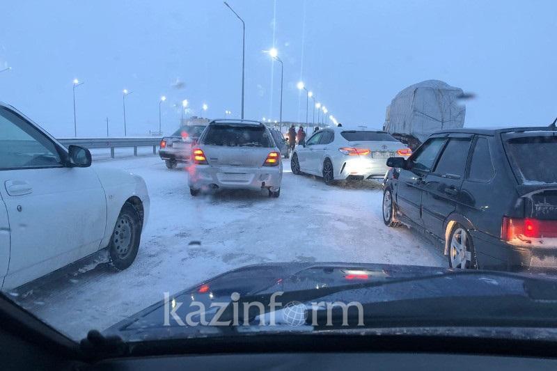 Дороги закрыли в четырех районах Северо-Казахстанской области