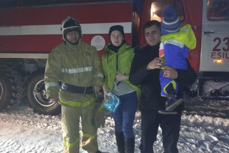 Спасатели вновь борются с непогодой в Акмолинской области