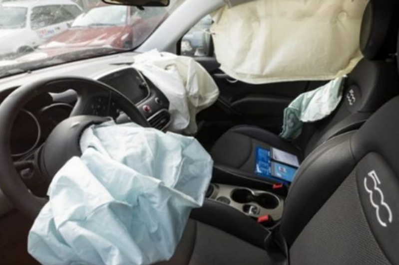 Infant killed by airbag in Italy