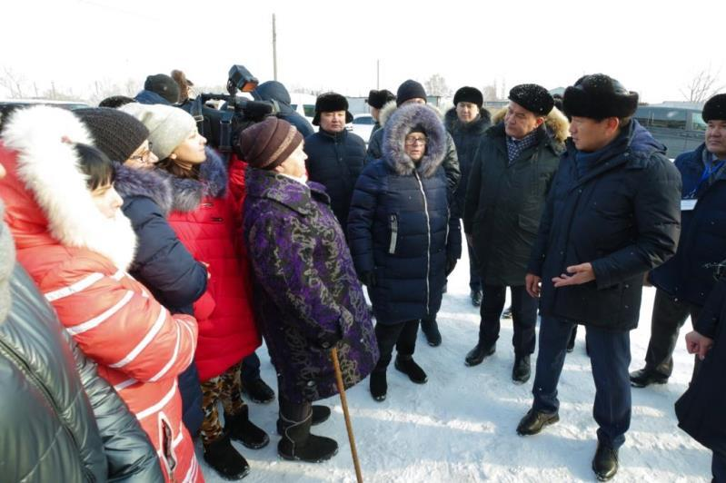 Бауыржан Байбек встретился с жителями отдаленных населенных пунктов Павлодарской области