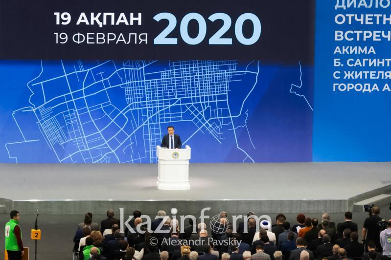 Almatyda Baqytjan Saǵyntaevtyń esepti kezdesýi bastaldy