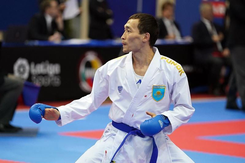 Kazakh karateka earns historical Olympic license
