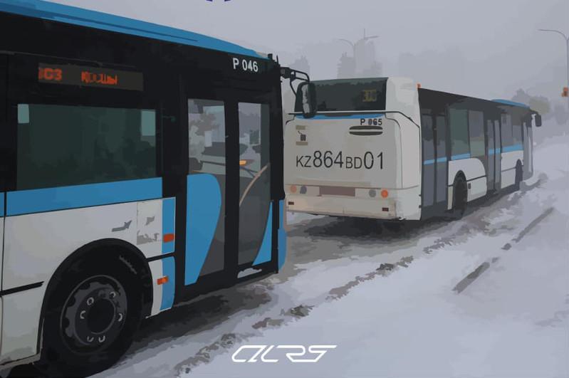 Из-за непогоды приостановлены все пригородные маршрутыв Нур-Султане
