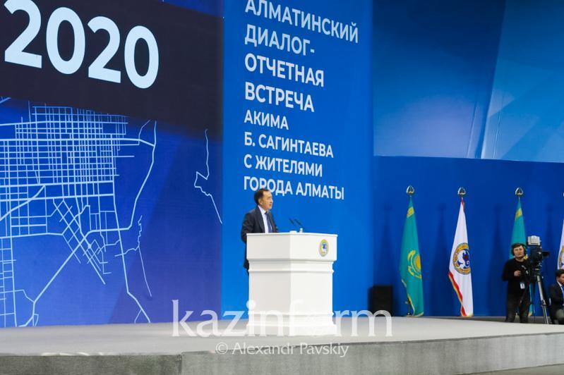 Endi turǵyndar qabyldaýyma elektrondy kezekpen jazylatyn bolady- Almaty ákimi