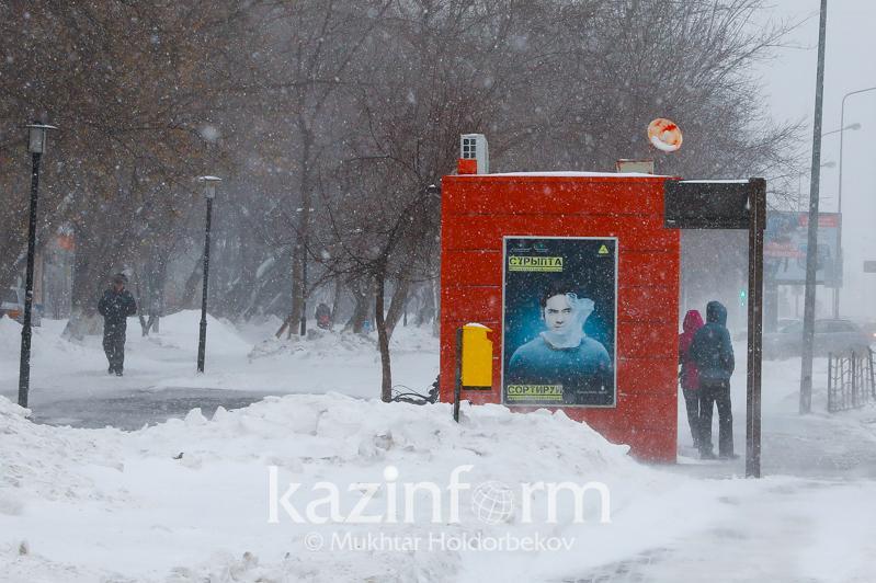Снегопады и метели ослабнут в ближайшие три дня