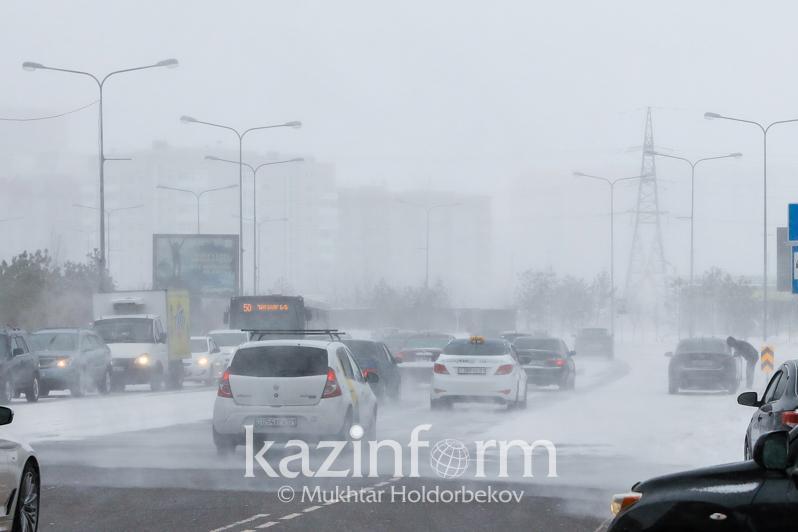 Snowfalls , blizzards to subside across Kazakhstan
