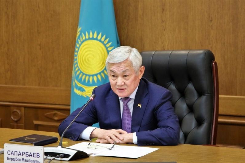 При совместной работе власти и общества можно добиться значительных результатов – Бердибек Сапарбаев