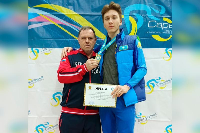 Ақмолалық велошабандоз Андрей Чугай Қазақстан чемпионы атанды
