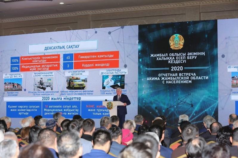 Бердибек Сапарбаев рассказал о задачах сельхозотрасли Жамбылской области