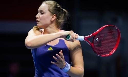 Теннисистка Елена Рыбакина вышла в четвертьфинал турнира в Дубае