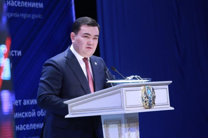 Почти на 90 вопросов ответил на отчётной встрече аким Карагандинской области