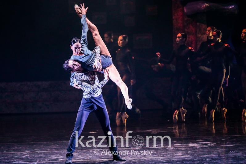 «Астана балет» представил алматинцам шедевры неоклассики