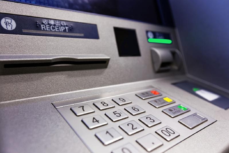 Оралда белгісіз біреулер банкоматты бұзып, тонап кеткен