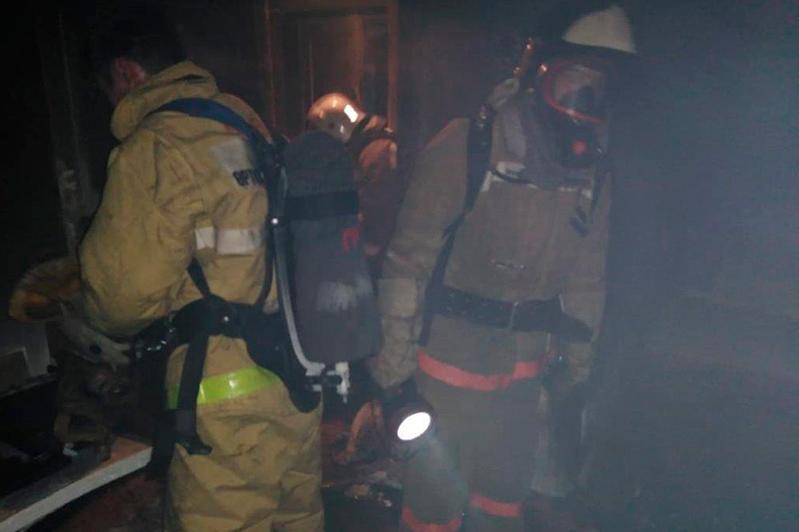 Пожар в пятиэтажке в ВКО: один человек погиб