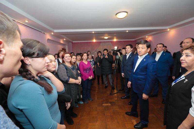 Бауыржан Байбек осмотрел проблемные объекты Экибастуза