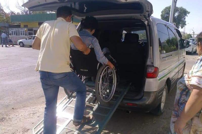 Түркістан облысының шалғай ауданында әлеуметтік такси қызметі жолға қойылған