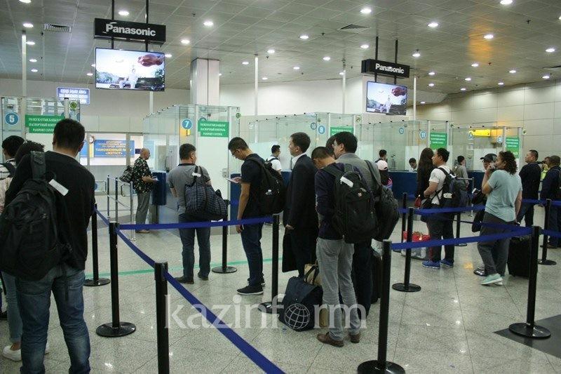 阿拉木图机场将对所有来自中国的公民进行强制隔离