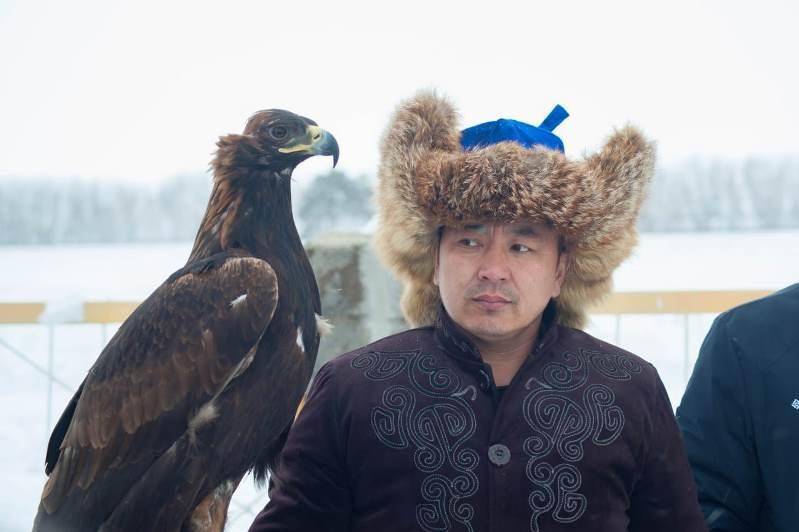 Чемпионат Казахстана по охоте с ловчими птицами проходит в СКО