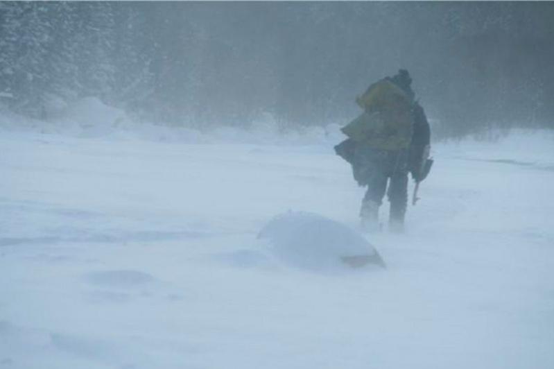 Водитель насмерть замерз в Акмолинской области