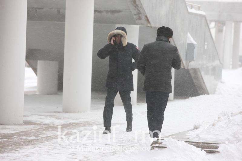 Южный циклон принесет в Казахстан осадки, туман и сильный ветер