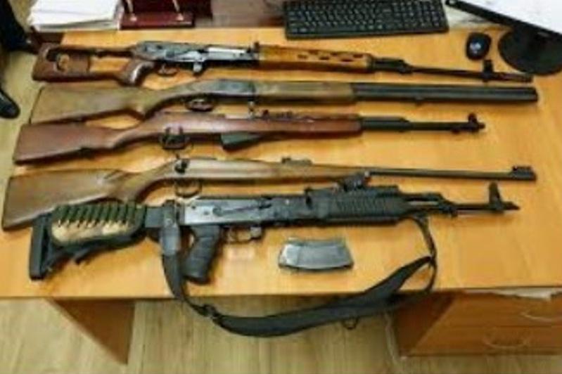 45 единиц оружия добровольно сдали костанайцы