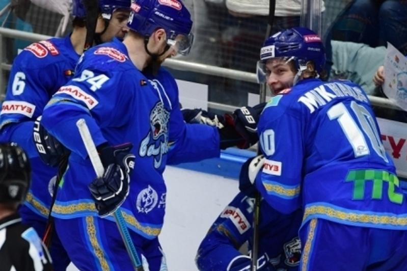«Барыс» одержал волевую победу над «Салаватом Юлаевым» в матче КХЛ