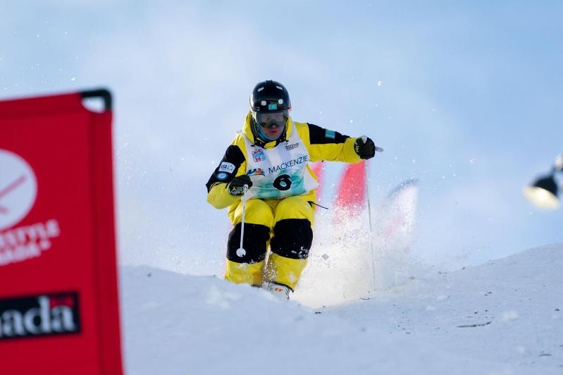 Dmitriy Reiherd grabs silver at World Cup moguls stop in Japan
