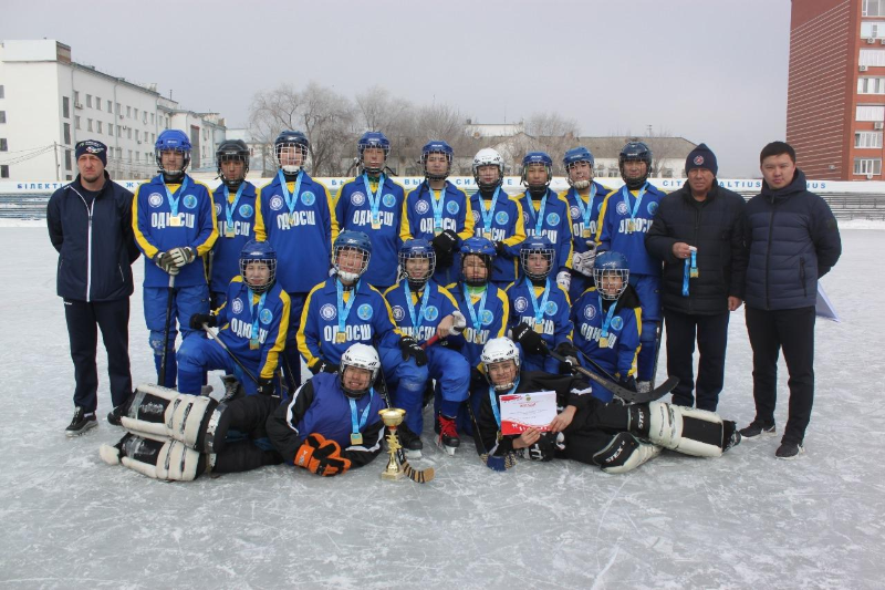 Оралда допты хоккейден жасөспірімдер арасында ел чемпионаты мәреге жетті