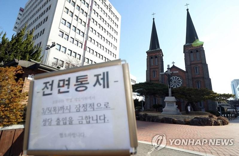 韩国累计确诊感染者达到556人