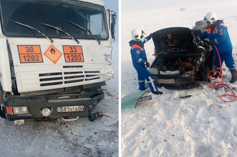 Четыре человека погибли в ДТП на трассе «Самара – Шымкент»