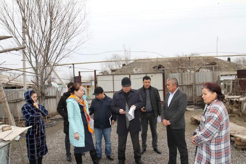 Мақтаарал ауданында 115 отбасыға көмек көрсетілмек