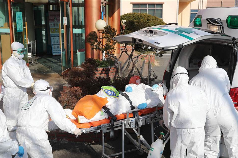 S. Korea reports 7th death from coronavirus, 161 new virus cases, total now at 763